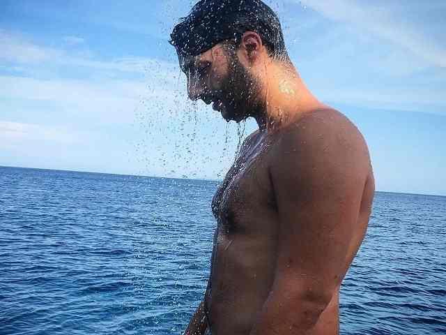 Gabriele Costanzo al mare