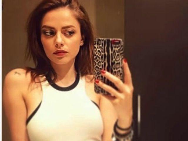 Un selfie di Annalisa Scarrone